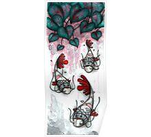 Three Samurai Fish Poster