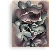 Cat Abstraction Canvas Print