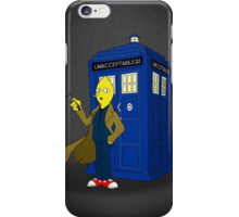 Doctor Lemongrab (Adventure Time + Doctor Who) iPhone Case/Skin