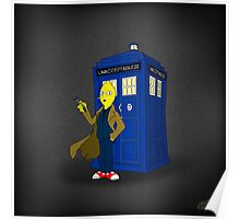 Doctor Lemongrab (Adventure Time + Doctor Who) Poster