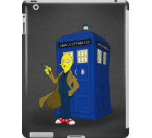 Doctor Lemongrab (Adventure Time + Doctor Who) iPad Case/Skin
