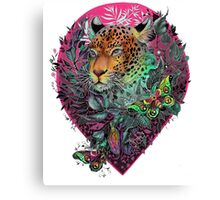 Rainbow jaguar Canvas Print