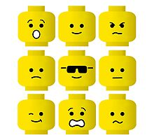 'Minifig Moods' by Customize My Minifig  by ChilleeW