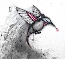 Alarm Hummingbird by Kaitlin Beckett