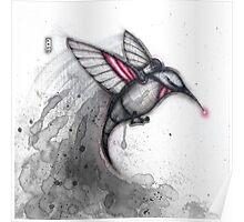 Alarm Hummingbird Poster