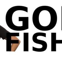 GONE FISHIN' - Kate McKinnon (Bumper Sticker) Sticker