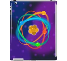 Atomic Structure spots iPad Case/Skin