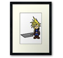 Cloudy with a Big Sword Framed Print