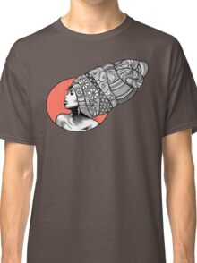 Tribal Head Piece Classic T-Shirt
