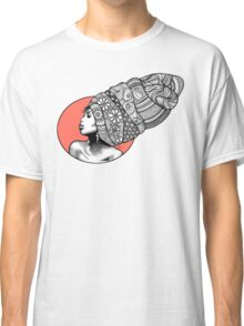 Tribal Head Piece Classic T-Shirt