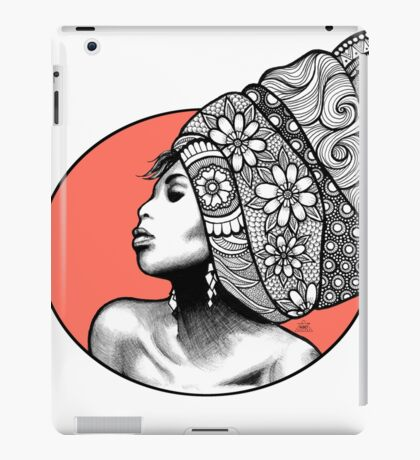 Tribal Head Piece iPad Case/Skin