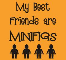 My Best Friends are Minifigs [Large] by Customize My Minifig by ChilleeW