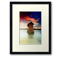 Pump  House  Framed Print