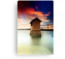 Pump  House  Canvas Print