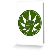 Need For Weed 420! Greeting Card