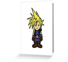 Cloudy Strife Greeting Card