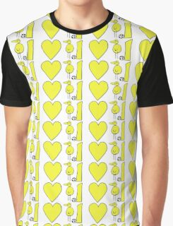 I Heart Canaries Graphic T-Shirt