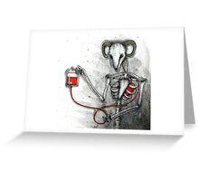 Bloodgoat Greeting Card