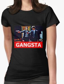Pulp Fiction Jules and Vincent Womens Fitted T-Shirt