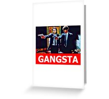 Pulp Fiction Jules and Vincent Greeting Card
