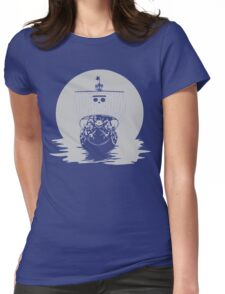 The Pirate Ship Womens Fitted T-Shirt