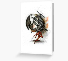Heliparrot Greeting Card