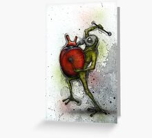 Heart Beater Greeting Card