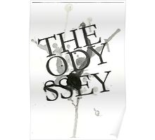 The Odyssey Typography Poster