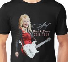SAVN05 Dolly Parton Pure & Simple Tour 2016 Unisex T-Shirt