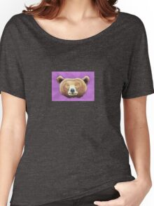 Big Ol' Happy Brown Bear Women's Relaxed Fit T-Shirt