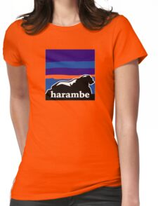 Harambe - Remember T-Shirt Womens Fitted T-Shirt