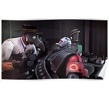 Team Fortress 2 Meet the Machine Medic Poster