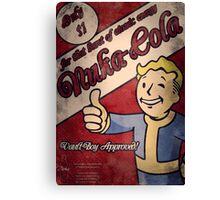 Fallout - Nuka Cola Ad Canvas Print