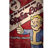Fallout - Nuka Cola Ad Photographic Print