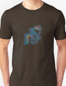 Rainbow Dash Neon Glow Nights T-Shirt