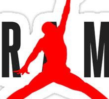 Jordan  X  Harambe Sticker