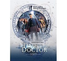 Doctor Who - Time of the Doctor Photographic Print