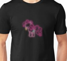 Pinkie Pie Neon Glow Lights Unisex T-Shirt