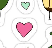Steeb and Bucky Birbs Sticker