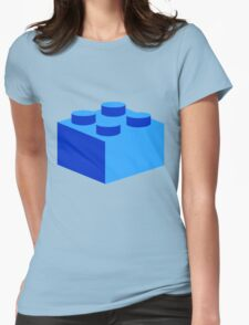2 X 2 BRICK Womens Fitted T-Shirt