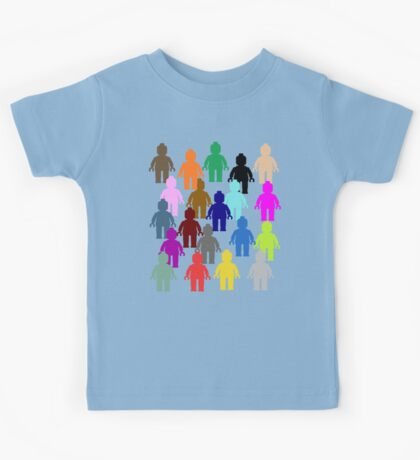 United Colors of Minifig [Large]  Kids Tee