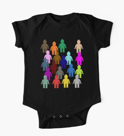 United Colors of Minifig [Large]  One Piece - Short Sleeve
