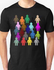 United Colors of Minifig [Large]  Unisex T-Shirt