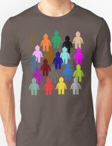 United Colors of Minifig [Large]  Unisex T-Shirt