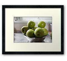 Day 1 - Green Framed Print