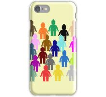 United Colors of Minifig iPhone Case/Skin