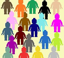 United Colors of Minifig [Medium] by Customize My Minifig  by ChilleeW