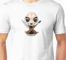 Sculpt or Die Cat Skull Jolly Roger  Unisex T-Shirt