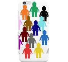 United Colors of Minifig [Large]  iPhone Case/Skin