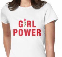 Girl Power Feminism Womens Fitted T-Shirt